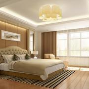 温馨暖色调卧室欣赏