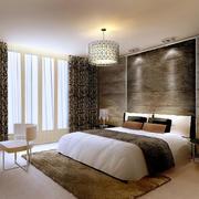 卧室别致背景墙设计