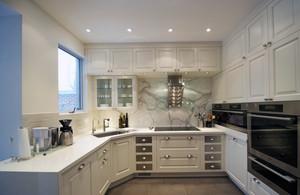 2016别墅型简欧风格厨房吊顶装修效果图