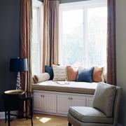 现代时尚的窗帘设计
