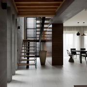 2016简约复式楼精致小楼梯装修效果图