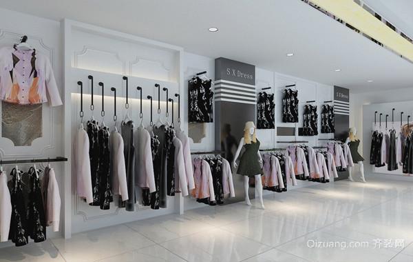 精品超大型都市服装店装修效果图