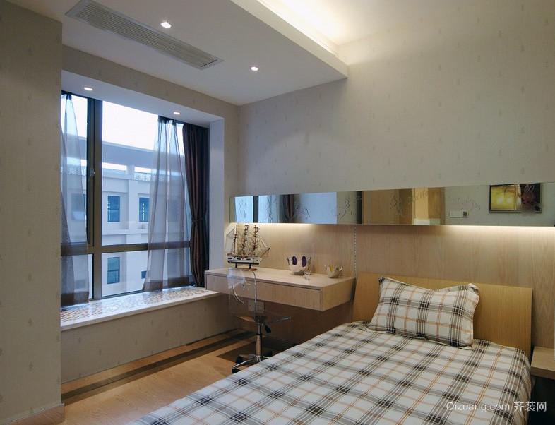 2016极致精美的欧式卧室室内飘窗装修效果图