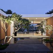 2016精致的美式风格别墅设计外观效果图