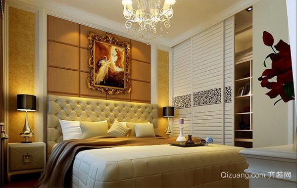 100平米大户型现代欧式卧室衣柜装修效果图