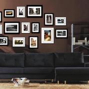 前卫摩登的照片墙