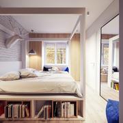 老房榻榻米卧室床