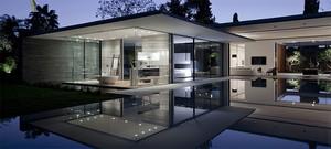 风格独特的欧式别墅设计外观效果图