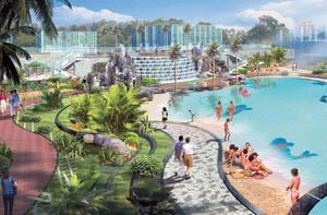 2016精致的欧式游泳池设计装修效果图实例