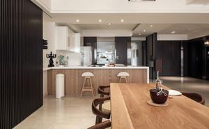 褐色混搭风老复式楼房屋装修效果图