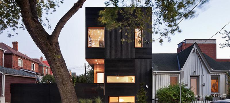 精致现代欧式别墅设计外观效果图鉴赏