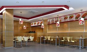 2016精致小户型快餐店装修设计图