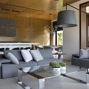 室内客厅舒适沙发