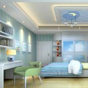 清新现代化儿童房