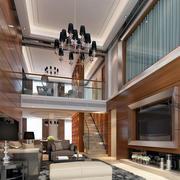现代室内吊灯图