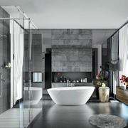 大户型后现代风格10平米浴室效果图