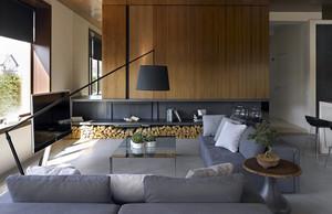 低调有气质的都市复式楼室内装修设计图