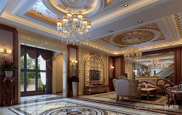 2016精致欧式别墅装潢设计室内装修效果图