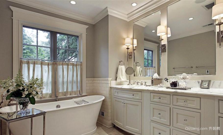 气质型简欧风格小浴室装修效果图