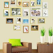 大气时尚的照片墙