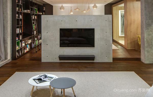 混搭风格230平米复式楼老房装修效果图