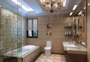 2016三室两厅两卫精致浴室装修效果图