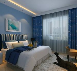 经典独特的欧式大户型儿童房卧室装修效果图