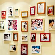 浪漫温馨的照片墙