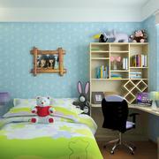 儿童房转角小书桌欣赏