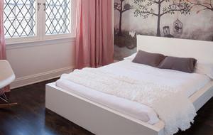 粉色舒适儿童房图片