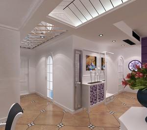 单身公寓现代时尚走廊吊顶装修效果图