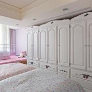 美式卧室衣柜欣赏