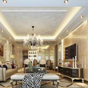 奢华大型客厅装饰