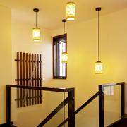 中式楼梯吊灯欣赏