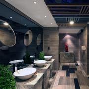 2016大户型欧式风格洗手间装修效果图