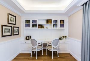 细腻大气 美式现代小复式楼装修样板房