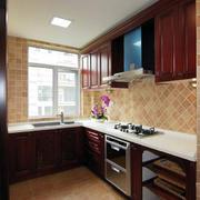 中式大户型厨房展示