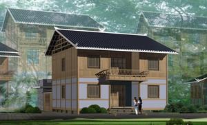 全新农村自建小别墅房屋设计效果图
