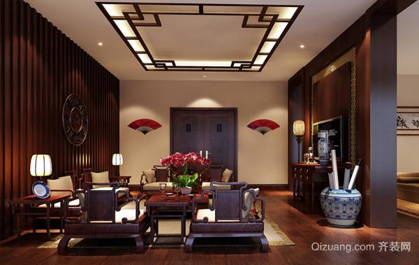 2016古典中式大型别墅装修设计效果图