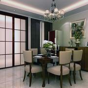 120平米欧式风格餐厅室内装修效果图