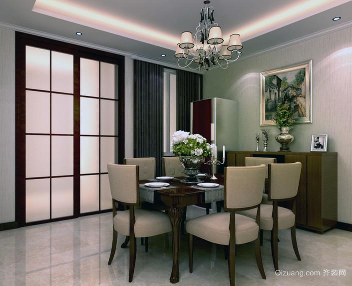 00平米大户型欧式风格房屋室内装修效果图