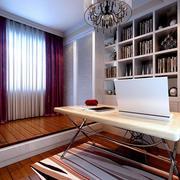 大户型现代化新房简约书房设计图