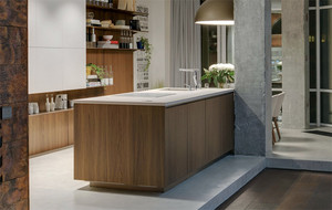 98平米两居室现代小户型家装设计图