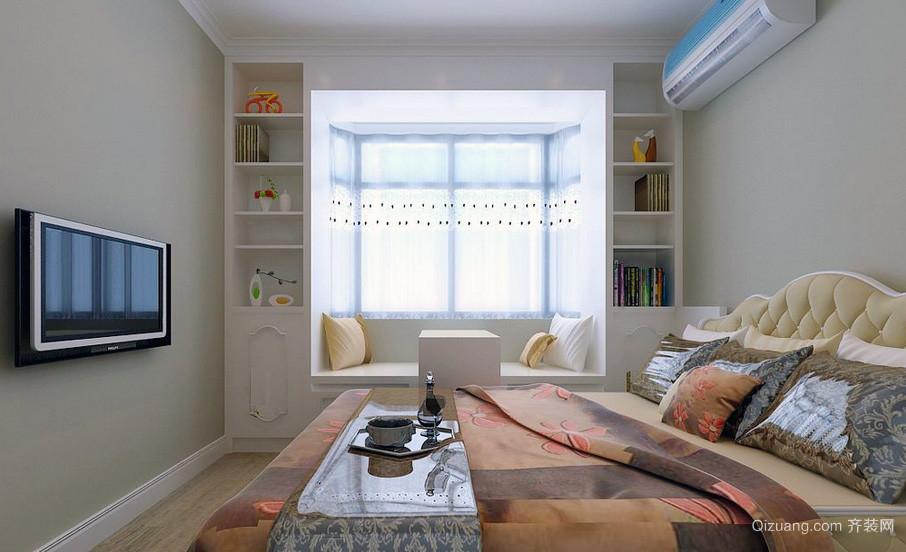 唯美日式三居室榻榻米卧室装修效果图鉴赏