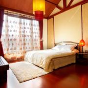 中式温馨卧室图片