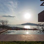美式别墅室外游泳池设计