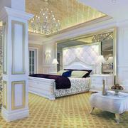 独特的欧式风格小户型卧室装修效果图实例