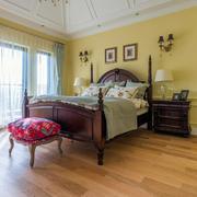 美式舒适温馨卧室展示