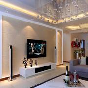 简单大气电视墙设计