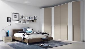 个性别致的现代卧室大衣柜效果图